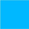 Blauwe klamboe